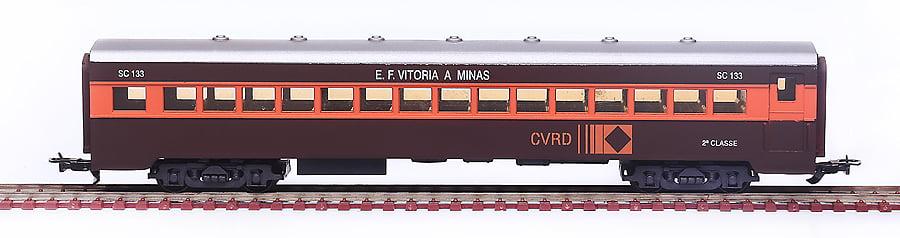 CARRO 2A CLASSE AÇO CARBONO CVRD - 2487
