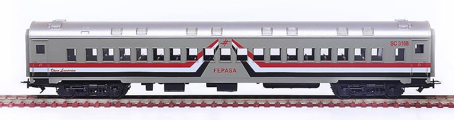 CARRO 2A CLASSE FEPASA AVE MARIA - 2519