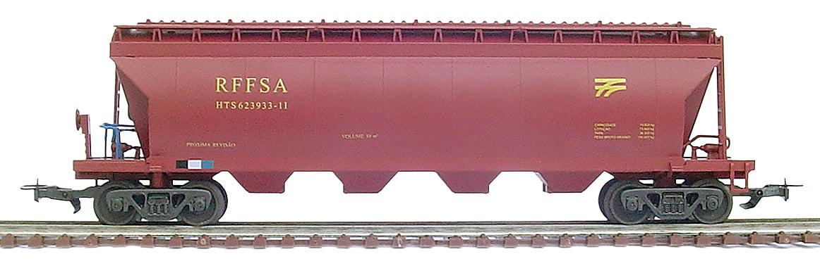 VAGAO HOPPER TANQUE RFFSA - (vm) - 2084